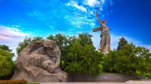 Sobering memorials and Europe's tallest statue: What England fans can expect in Volgograd