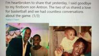 Scottie Pippen, terribile lutto: figlio Antron morto a 33 anni