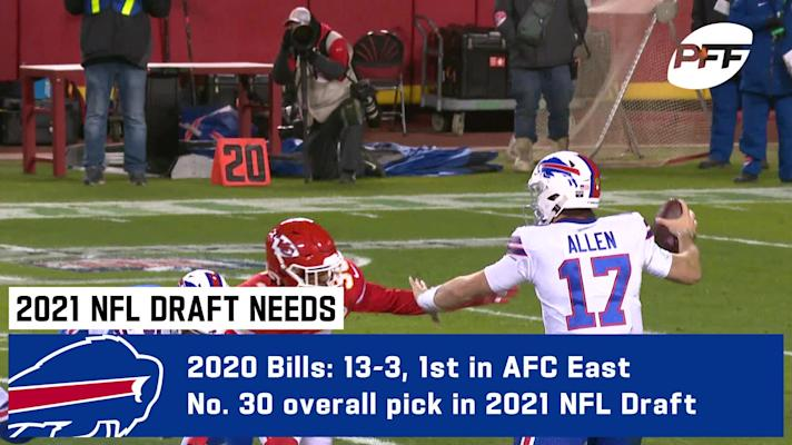 PFF 2021 NFL Draft needs: Buffalo Bills