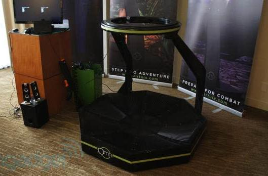 Virtuix Omni pre-orders open, time to clear some space in the living room