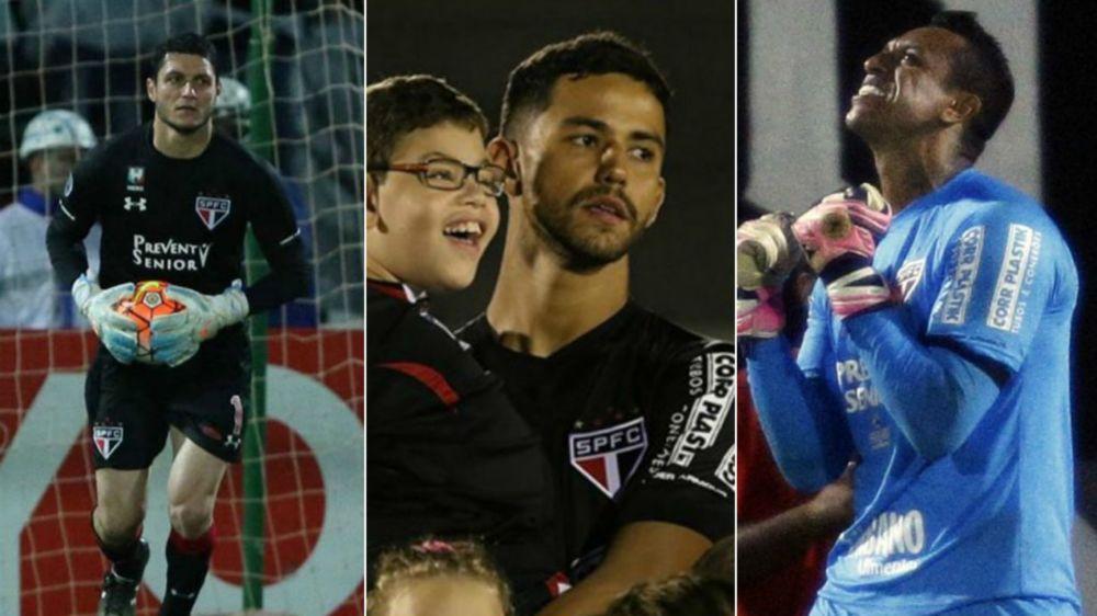 Sidão volta na próxima semana e entra na disputa com Renan e Denis por titularidade