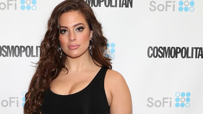 Ashley Graham goes totally naked for a fashion magazine