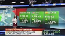 Global markets update: Europe remains flat