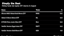 Best Stock Returns in August Came From ETFs Loved by Gold Bugs