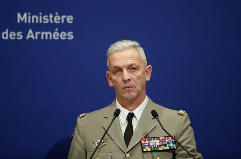France: Le général Lecointre quitte son poste de chef d'état-major