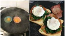The $1.50 Kmart hack for perfect poached eggs