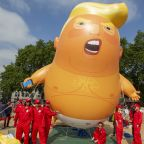 The Trump Baby Blimp Is Coming To America