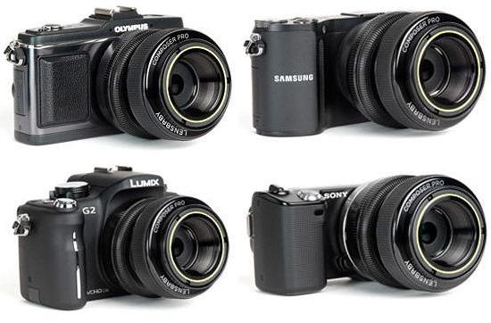 Lensbaby Composer Pro gets Samsung, Sony, Micro Four Thirds mirrorless mounts