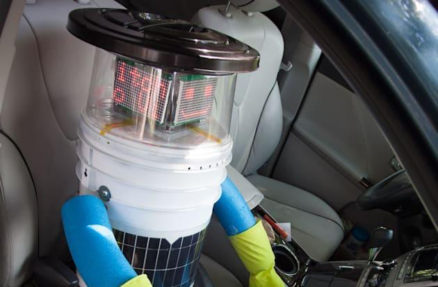Hitchhiking robot completes its cross-Canada trip