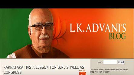 K'taka loss not a surprise but a lesson to BJP, Cong: Advani