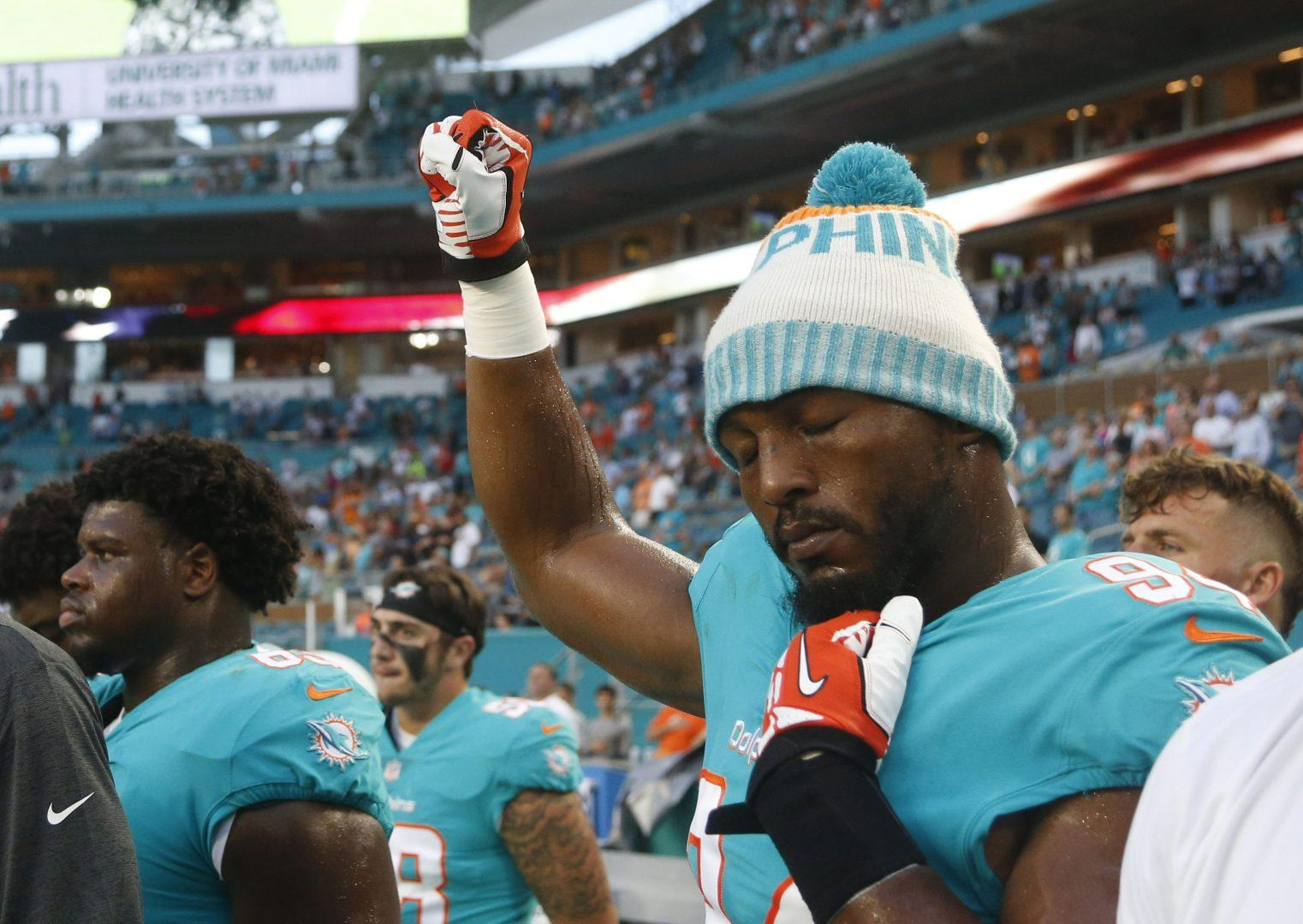 """Robert Quinn blames media for turning protests into """"what you wanted to make it"""""""