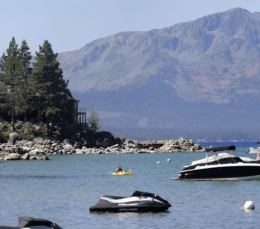 Lake Tahoe warming 15 times faster than long-term average
