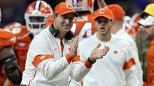 Dabo Swinney says Houston Texans job is not something 'that I want to even have to think about'