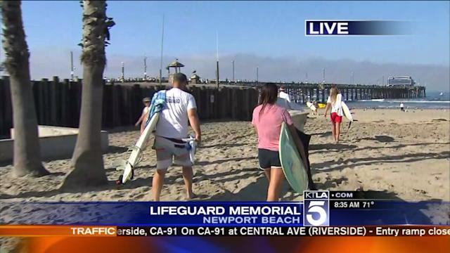Paddle-Out to Honor Newport Beach Lifeguard Who Drowned During Rescue Attempt