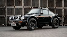 Porsche Syberia RS rally car is what you make when you need a Hummer that's fast