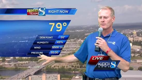 KCCI 8 video weather forecast