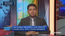 GM's settlement in South Korea was 'slightly unprecedente...