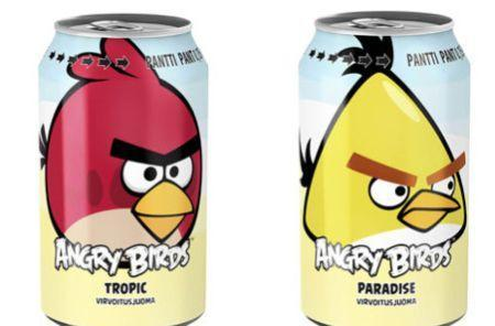 Angry Birds soda release makes for huge sales jump