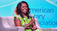 Michelle Obama strikes a pose in her bathrobe in Instagram pic