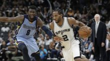 Kawhi Leonard fended off a Grizzlies comeback, and the Spurs are in control up 2-0