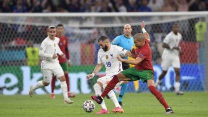 Foot - Euro - Karim Benzema «avait envie de marquer» avec la France face au Portugal à l'Euro