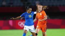 米德馬梅開二度,瑪塔破門,荷蘭女足3比3踢平巴西