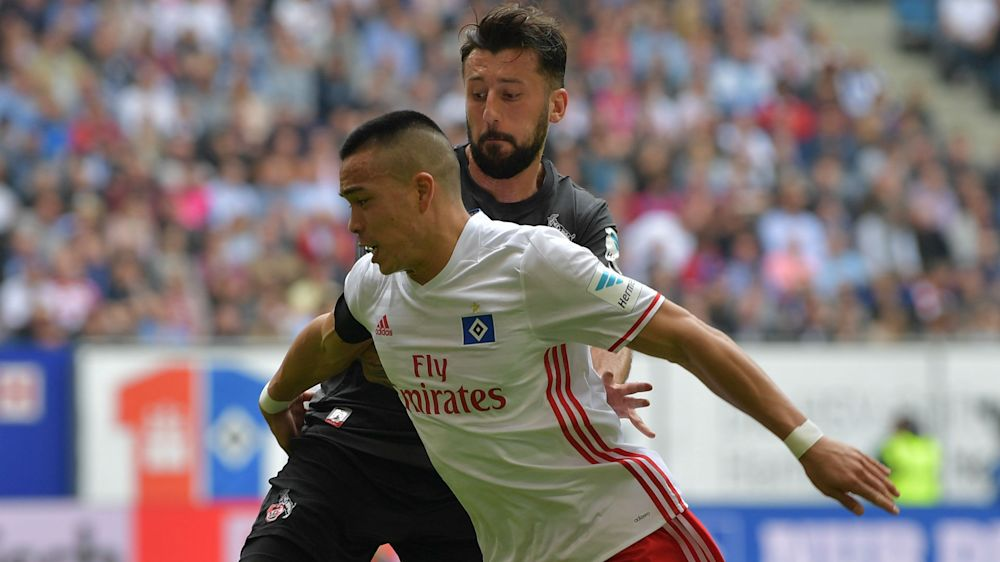 Hamburg in talks with Bobby Wood over contract extension