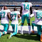 Dolphins' Michael Thomas tears up responding to Trump comments