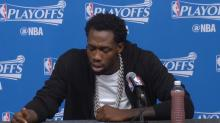 """Patrick Beverley on Russell Westbrook: """"Men lie, women lie, but the numbers don't"""""""