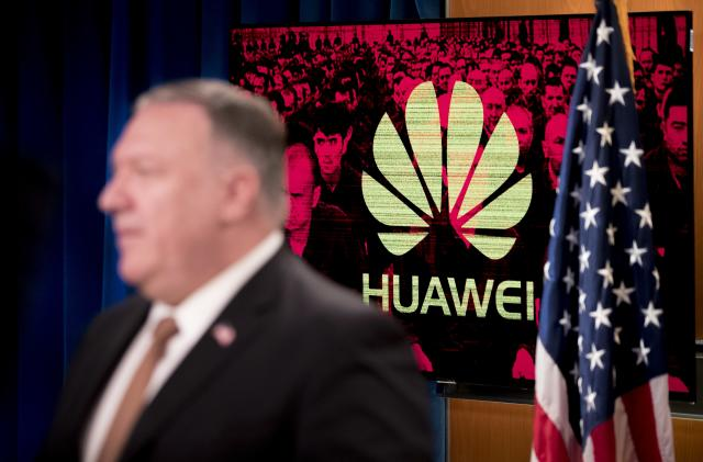 Huawei urges UK to reverse ban following US election