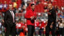 Kyle Shanahan, John Lynch praise Robert Saleh for building 49ers' culture