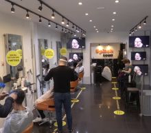 Salons busy as hairdressers and barbers open in the UK