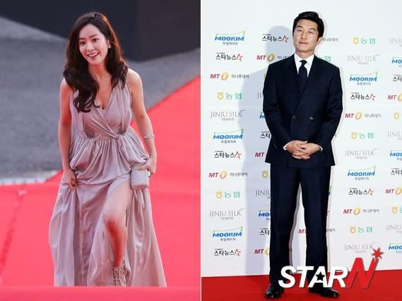 Han Ji Min and Kim Sang Joong recognized at '2012 Korea Drama Awards'