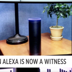 Amazon Alexa is now a witness