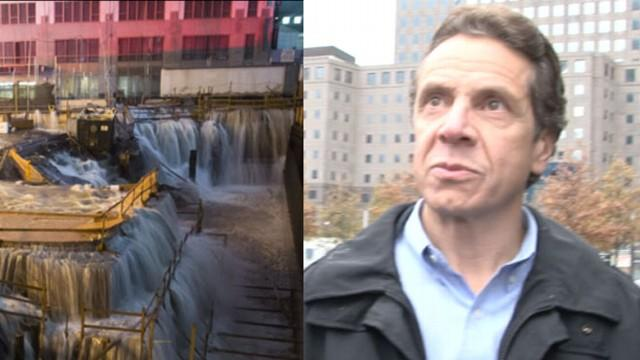 Governor Andrew Cuomo Tours Hurricane Sandy Damage