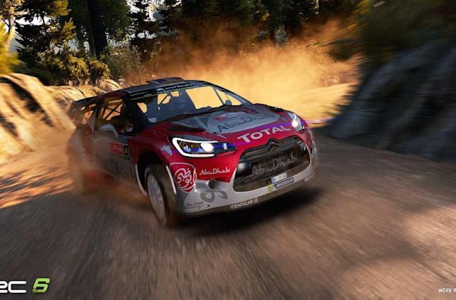 'World Rally Championship 6' in VR is full of off-road rage