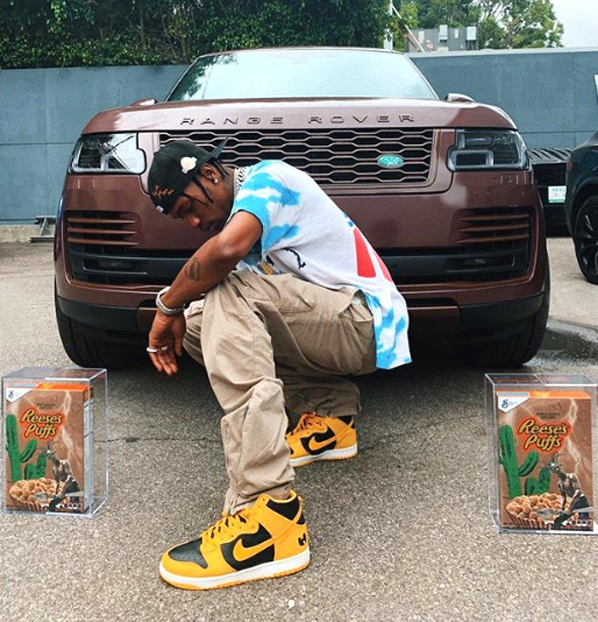 802868d048e3 Travis Scott Gets His Own Cereal Collab With Reese's Puffs