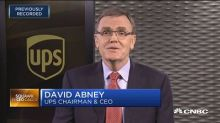 UPS CEO: Our relationship with Amazon is 'mutually benefi...