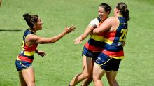 Crows stun Cats with big AFLW win