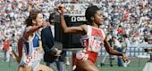 Evelyn Ashford's incredible anchor leg won the U.S a gold medal at the 1988. (AP)