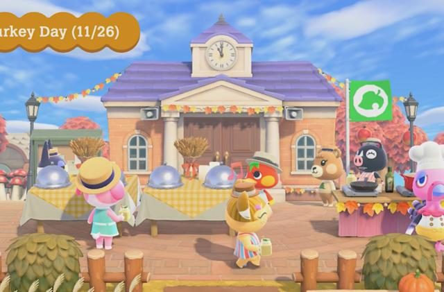 'Animal Crossing: New Horizons' holiday update arrives on November 19th