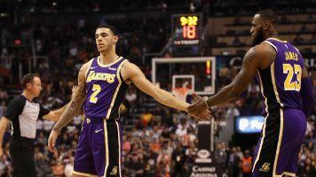 LeBron praises Lonzo; Balls might fold BBB