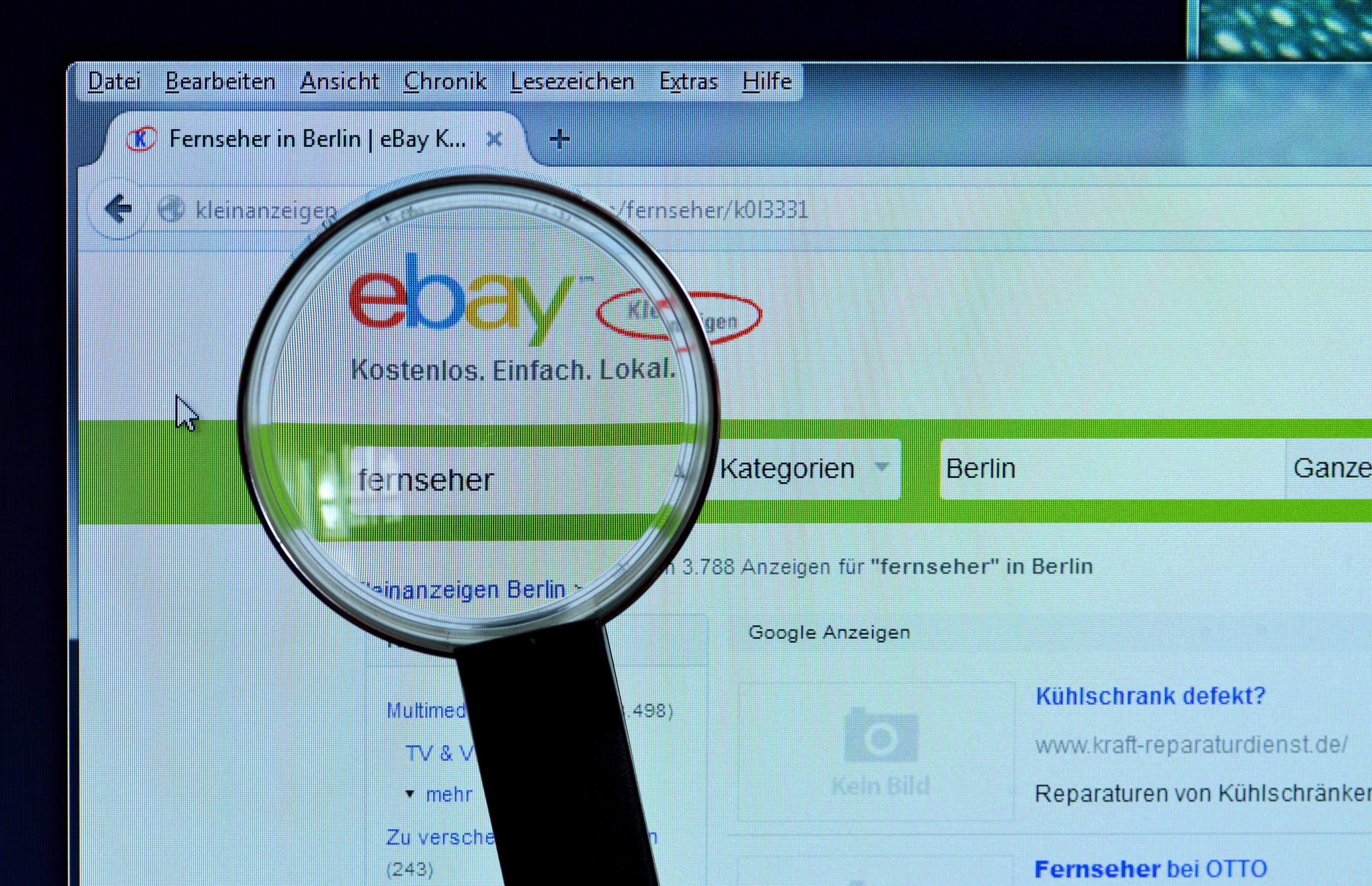 Er sucht sie ebay kleinanzeigen