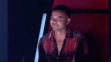 Guy Sebastian struggles to hold back tears on The Voice