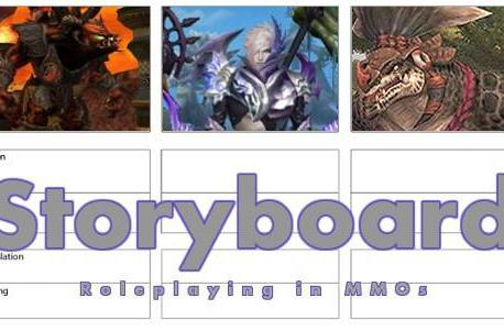 Storyboard: Breaking game mechanics for the sake of roleplay