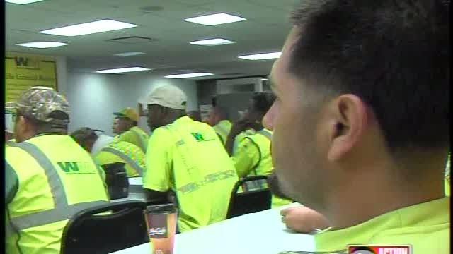 RNC security turns to garbage collectors