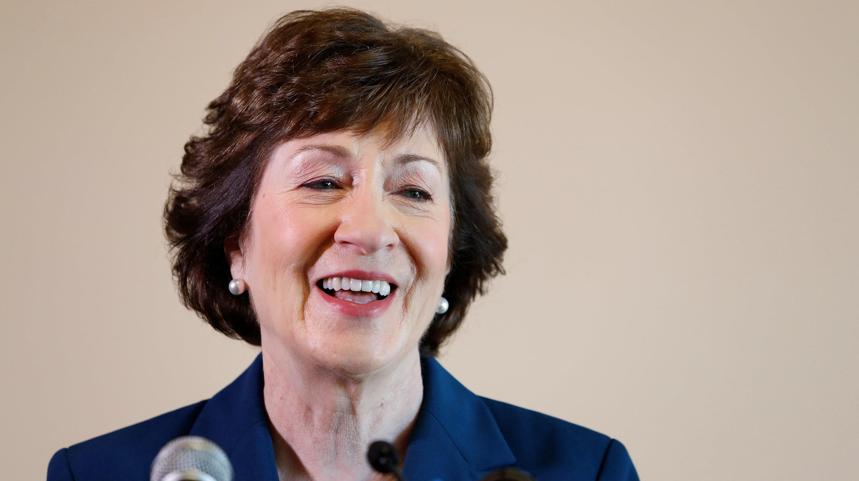 Susan Collins: 'No Reason To Be Concerned' That Trump Is Unhinged
