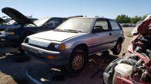 Junkyard Gem: 1984 Honda Civic 1300 Hatchback