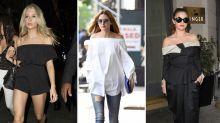 Der Frühlingstrend: Bardot-Tops und schulterfreie Kleider