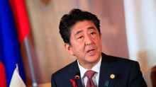 China says Japanese PM Abe to visit this month